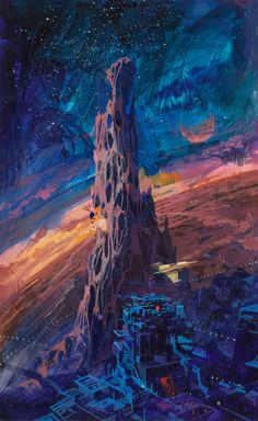 paul lehr - studies for A planet called treason