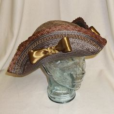 Ahoy matey! Do you dream of being a pirate and sailing the seven seas? Need an elegant chapeau for your next steampunk gathering? Are you