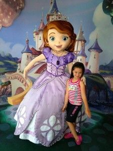 Sofia the First Meet and Greet at Disney Parks - #DisneyVacation by Joe Defazio, Magic Maker at Off to Neverland Travel - https://www.facebook.com/#!/MagicMakerJoe