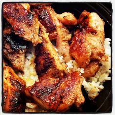 Panda Express Teriyaki Chicken and Rice Bowl