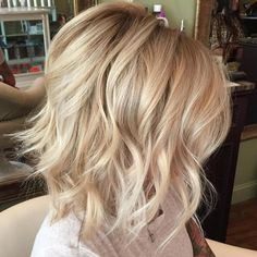 Tousled+Blonde+Bob+Hairstyle