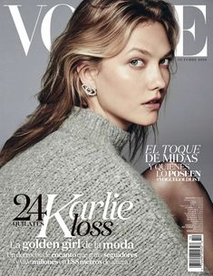 Karlie Kloss featured on the Vogue Latin America cover from October 2016