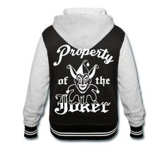 Don't mess with the property of the joker. As worn by Harley Quinn.Perfect for cosplay!