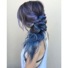 40 Perfectly Imperfect Messy Hairstyles for All Lengths ❤ liked on Polyvore featuring beauty products, haircare, hair styling tools and hair