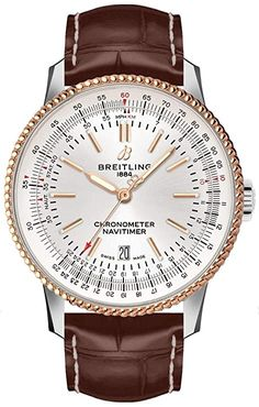 Breitling Navitimer, Breitling Superocean Heritage, Breitling Watches, Green Diamond Rings, Authentic Watches, Luxury Watches For Men, Stainless Steel Case, Cool Watches, Gold Watch