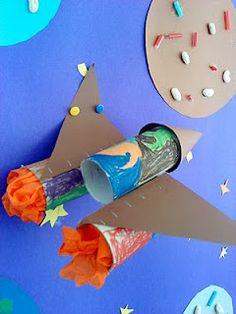 Διαστημα και διαστημοπλοια . (κατασκευες απο ανακυκλωσιμα υλικα) .