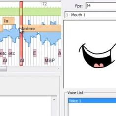 Learn how to use the auto lip sync feature and Papagayo with Anime Studio Lip Sync, Lips, Studio, Learning, Anime, Studying, Studios, Cartoon Movies, Teaching