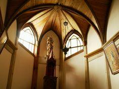 Kyu-gorin church, Hisaka Island, Nagasaki Pref., Japan. One of the oldest wooden church.
