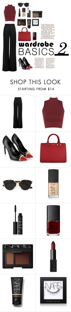 """Wardrobe Basics #2"" by mary03l on Polyvore featuring Roksanda, WearAll, Yves Saint Laurent, MICHAEL Michael Kors, Christian Dior and NARS Cosmetics"