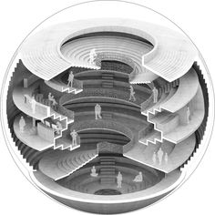 Gallery of Bee Breeders Rome Concrete Poetry Hall Competition Winners Announced - 4