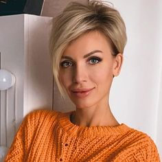 blond_haare_idee – The World Popular Short Hairstyles, Bob Hairstyles For Fine Hair, Beautiful Hairstyles, Blonde Pixie Hairstyles, Short Womens Hairstyles, Short Straight Hairstyles, Cute Pixie Haircuts, Model Hairstyles, Pixie Haircut Styles
