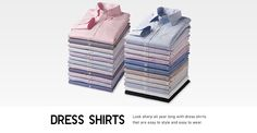 Men's Dress Shirts | UNIQLO
