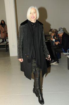 Linda Fargo - Rodarte - Front Row - Mercedes-Benz Fashion Week Fall 2014