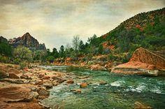 'Watchman' ~ Zion National Park, Utah