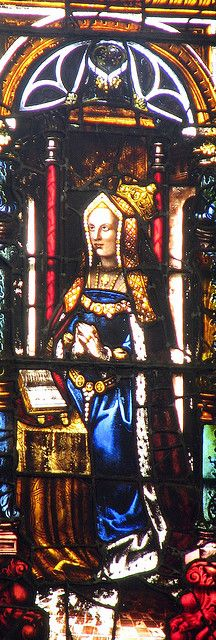 Stained Glass window showing Catherine of Aragon by lisby1, via Flickr Tudor History, British History, Stained Glass Art, Stained Glass Windows, Tudor Dynasty, Historical Artifacts, Historical Women, Catherine Of Aragon, Queen Mary