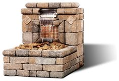The Oasis I Water Feature - modern - outdoor fountains - other metro - General Shale