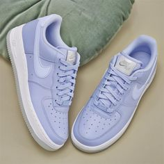 new concept ceb47 9fd45 Nike Air Force 1 07 Trainers Aluminum White Metallic Luster - Hers trainers