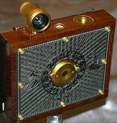 Victorian / steampunk pinhole camera, via Flickr.