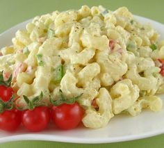 Macaroni Salad with pickles yum