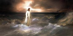 Your God walks on water ... DON'T YOU FORGET IT !!