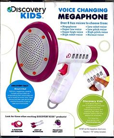 Voice Changing Megaphone – Purple or…