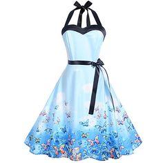 Women's Dresses, Pin Up Dresses, Types Of Dresses, Pretty Dresses, Beautiful Dresses, Casual Dresses, Halter Dresses, Dresses Online, Formal Dresses