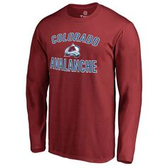 Colorado Avalanche Victory Arch Long Sleeve T-Shirt - Maroon - $24.99