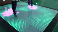 interactive led floor - Google Search