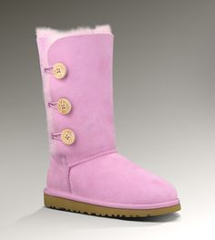 UGG® Kids Bailey Button Triplet | Classic Tall Sheepskin Boots for Kids at UGGAustralia.com