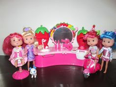 Strawberry Shortcake Dolls & Accessories Lot #DollswithClothingAccessories