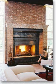 Chimeneas ideas decorativas para tu casa decoraci n for Hogares a lena rusticos