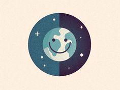 Happy Earth by Richard Perez