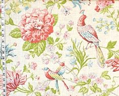 Bird fabric from Brick House Fabric: Novelty Fabric