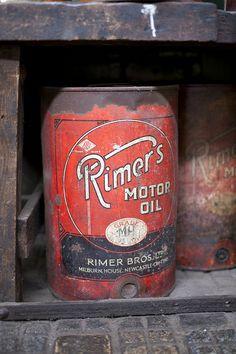 Rimer's Motor Oil Can - Beamish Museum