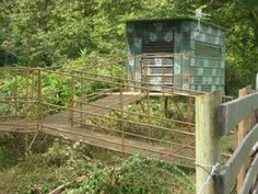 The Hut ~ A Fully Wheelchair Accessible Elevated Hunting Blind or Ground Blind