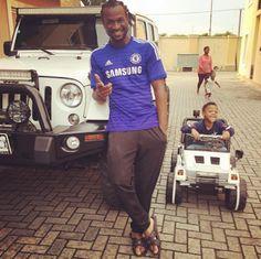WELCOME TO OSASBLOG: Paul Okoye buys his son a miniature Wrangler Jeep ...
