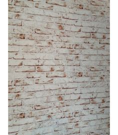 Distressed Style Brick White Painted Red Brick