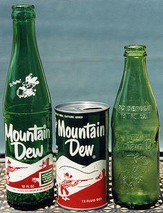 hillbilly can , bottle, and non returnable bottle