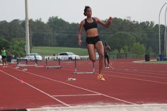 Pre season Long Jump training by Bianca Stuart, Bahamas National Long Jump champion.