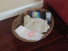 Dressing basket