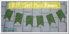 #DIY Sheet Moss Bann