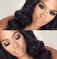 Flawless make-up