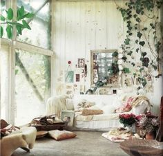 gypsy decore | bohemian, couch, decor, easy, home - inspiring picture on Favim.com