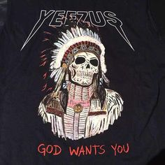 Kanye West Yeezus Tour Merch T-Shirts | Complex