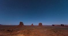Monument Valley, Arizona. Taken at 2am from the balcony of our hotel room.