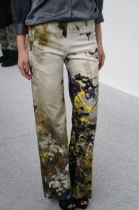 Garbarini patterned pants