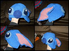 Ravelry: Stitch from Lilo and stitch inspired hat pattern by cjcslcfamily ImaginationCaptured