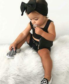 Cute Kids Fashion, Little Girl Fashion, Toddler Fashion, Cute Little Girls Outfits, Toddler Girl Outfits, Kids Outfits, Baby Outfits, Cute Mixed Babies, Black Baby Girls
