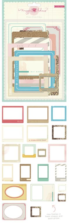 Styleboard frames @Maggie Moore Holmes