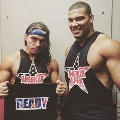 @wwegable and @jordanwwejj #AmericanAlpha debut NEXT on #SDLive! #WWE